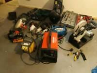complete garage Equipment and welding