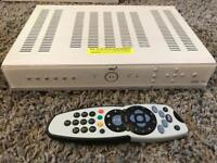 Sky Plus HD box with remote.
