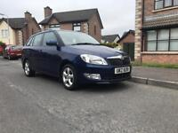 2008 Skoda Fabia Estate 1.4 petrol cheap car ( Volkswagen ford vauxhall Citroen Toyota)