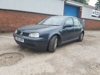 VW GOLF MK4 1,9TDI 6GEARS 130HP