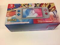 Nintendo Switch Lite Pokémon New (Boxed)