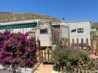 Caravan for sale in El Campello Alicante Spain SITE fees INCLUDED UNTIL AUGUST 2022