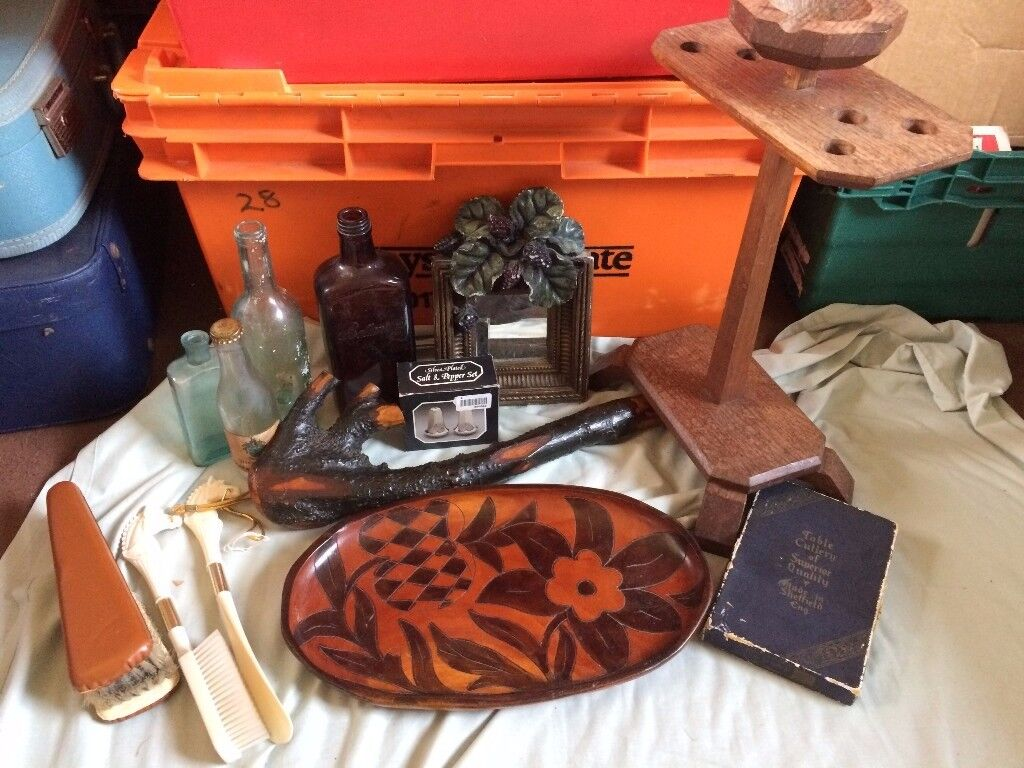 job lot on antiques and collectables