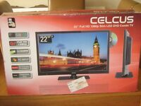 22 Inch TV With DVD Player