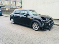 2015 Mini Cooper Automatic 65reg 5dr hatchback Salvage Damaged Repairable fiesta juke qashqai a1 a3
