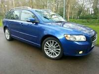 VOLVO V50 2.0D SE-LUXURY 2008 08'REG*FSH*FACELIFT*HUGE SPEC*PRISTINE CONDITION*#AVANT#V70#A4#S LINE