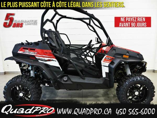 Used 2015 CFMOTO Z-FORCE 800 EX - 2500$ DE RABAIS