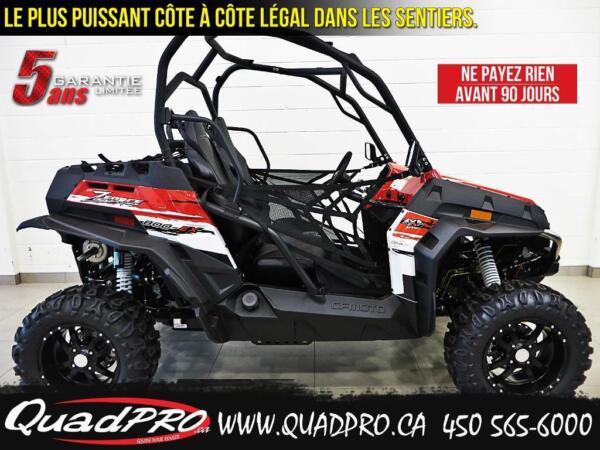 Used 2015 CFMOTO Z-FORCE 800 EX - 2500$ DE RABAIS