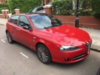 Alfa Romeo 147 1.9 JTD Collezione. Diesel. Manual. Limited Edition. 5dr. Alloy Wheels. Leather seats