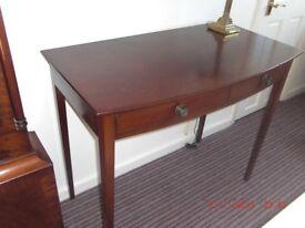 Vintage Mahogany Consul Table £30