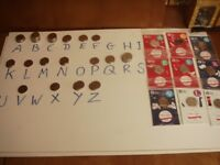 New A-Z 10p Coins Uncirculated SELL OR SWAP