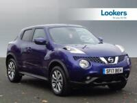 Nissan Juke N-CONNECTA DIG-T (blue) 2017-06-26