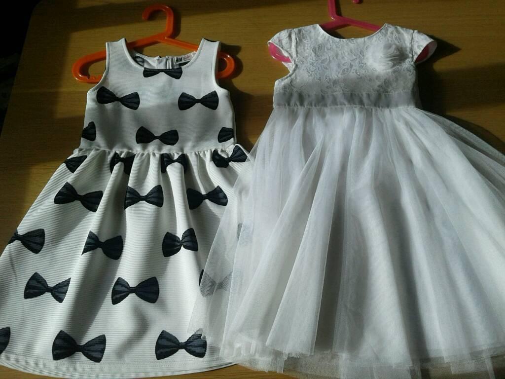 Girls dress 7 - 8 years