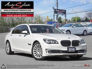 2014 BMW 750Li xDrive Li AWD ONLY 71K! **CLEAN CARPROOF** TEC...