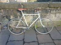 Beautiful Ivory vintage fixed gear Pathracer