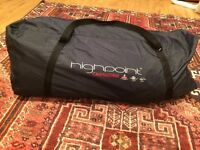 Unused spacious 4 person tent, perfect condition, still in original packaging