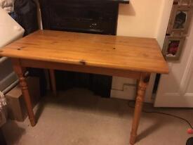 Pine table/desk