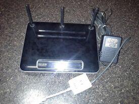 Belkin ADSL2+ N wifi Router Modem