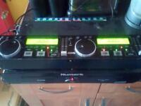 newmark twin cd players and controller unit