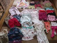 Girls Clothes bundle (45 Items) 12-24 Months