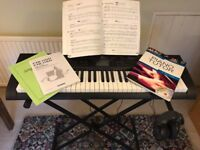Casio CTK1150 electric keyboard plus stand and accessories £55