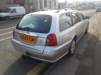 rover 75 se tourer estate 1.8 5dr 77000 miles 2003 model