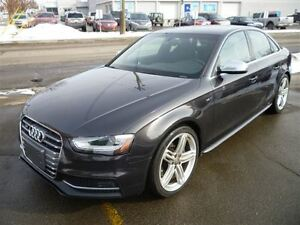 2014 Audi S4 3.0 Progressiv/LEATHER/SUNROOF/ALLOYS