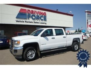 2015 GMC Sierra 2500HD WT Crew Cab Rear Wheel Drive - 15,829 KMs