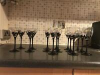 12 piece glassware set