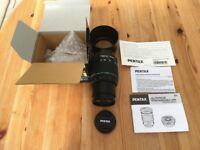 Pentax SMC DA 50-200mm F4-5.6 ED WR Weather resistant lens for Pentax K mount cameras