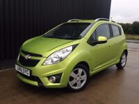 2011 (61) Chevrolet Spark 1.2 LS+ 5dr Low Mileage, 2Keys,Service History,Cheap Tax,Finance Available