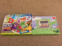 2 Children's Giant Floor Puzzles