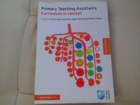 Primary Teaching Assistants Curriculum in Context The Open University