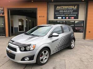 2013 Chevrolet Sonic jamais accidenté / toute equipé