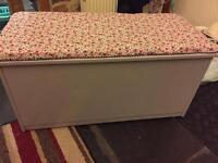 Large ottoman/ blanket box