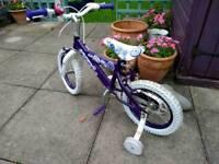 14 inch Girl bike