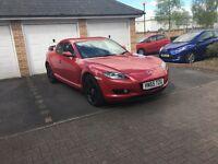 Mazda Rx8 - Red
