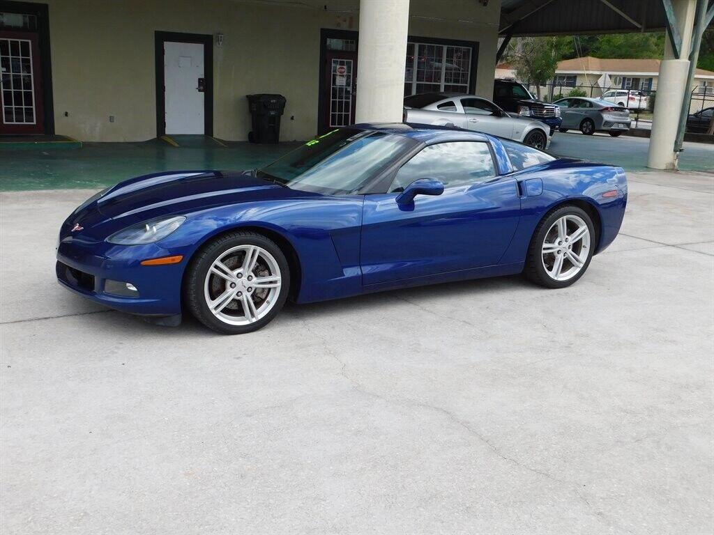 2005 Blue Chevrolet Corvette   | C6 Corvette Photo 2