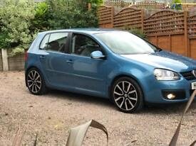 2007 vw Golf 2.0 TDI GT DSG 170 Automatic auto , only 2 owners fsh