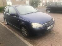 Vauxhall Corsa facelift bumper breaking full car irmscher