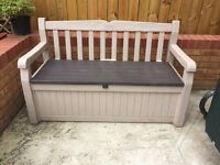 Storege Bench, as new not used, bargain almost half price !!