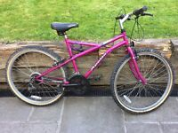 Appollo Ladies/Girls pink mountain bike