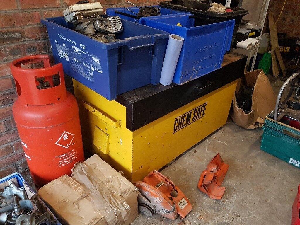 3007f28631 Large tool safe. Chem safe. Van vault. plant store