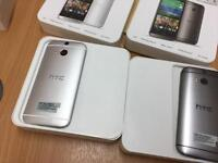 HTC ONE M8 NEW WITH BOX AND CHARGER FACTORY UNLOCKED NO SILLY OFFERS