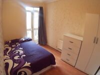 NO FEE - MOVE IN TODAY-LEYTON £150 double room, 4 bedrooms house, garden, all bills included.
