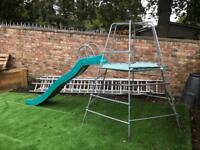 TP climbing frame, slide and monkey bars for sale