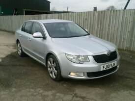 2010 Skoda superb 2.0 tdi dsg