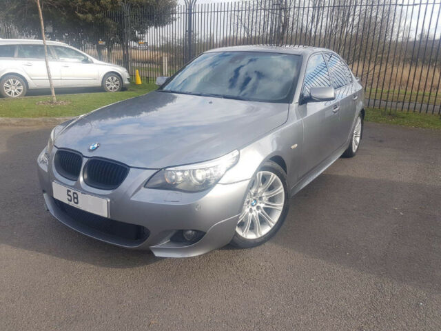 2008 58 BMW 535d Sport E60 - Very High Spec - * MEGA SPEC * SPORT BUTTON *  SUNROOF * 353 BHP REMAP   in Newham, London   Gumtree