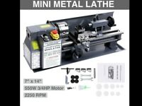 """Small Model makers metal lathe 14"""" centres NEW"""
