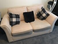 Sofa Bed nutreal colour rarely used cheap price for quick sale